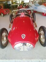 Ferrari Pedal Car, Good Condition, Got One Small Dent In Back As Shown In...