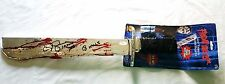 CJ GRAHAM SIGNED Jason LIVES 6 Machete Toy Autograph JSA COA INSCRIPTIONS