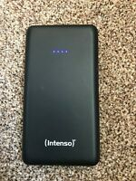INTENSO 10,000mAh Smart Portable Power Bank, Power Pack SAMSUNG iPhone Ipad