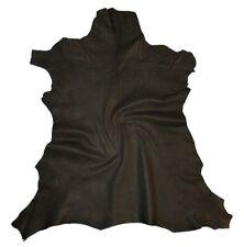 "Australian Kangaroo Vegetable Tanned Black /""Paper Thin/"" leather 5 Sq.Ft 0.3 oz"