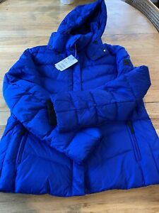 Bogner Fire+Ice Sally Down Jacket Women's- Size 42 US 12- Blue NEW🦋+$600
