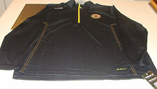 Boston Bruins NHL Hockey Reebok Center Ice Baselayer 1/4 Zip Top Pullover Small