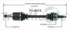 SurTrack TO-8015 CV Axle Shaft