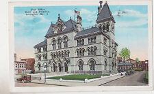 Covington,Kentucky,Scott & Parkway,Post Office,Used,1932