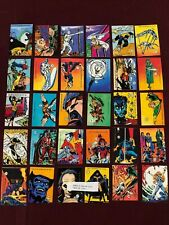 70 YEARS OF MARVEL ANNIVERSARY COMPLETE 18 CARD RETRO STICKER CHASE SET  S1-S18
