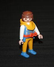 Playmobil moyen âge viking jaune et bleu 3156 5003 5714