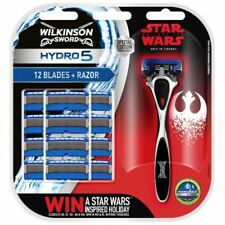 WILKINSON SWORD HYDRO 5 SUPER VALUE PACK STAR WARS (HANDLE+12 BLADES)  Genuine