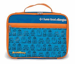 "Blue ""I Have Food Allergies"" Lunch Bag"