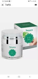 Tetyana Naturals Eye Gel 1.7 fl oz Allantoin Hyaluronic Acid Puffiness Wrinkles