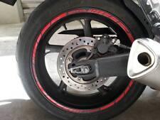 ADESIVI CERCHIONI MOTO wheels stickers lateral standart stripes per Hypermotard