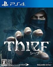 Thief PlayStation 4 SQUARE ENIX SONY PS4 PLAYSTATION JAPANESE NEW JAPANZON