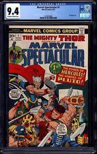 Marvel Spectacular #1 CGC 9.4 1973 Thor Cover! Bronze Key! Avengers! G12 145 cm