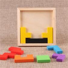 Toys 3d Wooden Puzzles Jigsaw Board Tangram Brain Teaser Children Educational CO