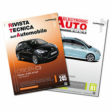 1 Manuale tecnico riparazione/manutenzione+1 Manuale Diagnosi Auto Citroen C3 II