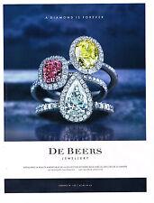 PUBLICITE  2013   DE BEERS  joaillier