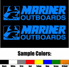 MARINER OUTBOARDS Vinyl Decal Pair