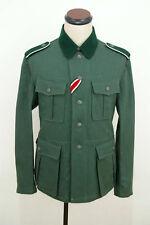 WWII German M36 EM summer HBT reed green field tunic 2XL