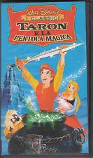 TARON E LA PENTOLA MAGICA - VHS (NUOVA SIGILLATO)