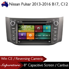 "8"" Car DVD GPS Nav Head Unit Stereo For Nissan Pulsar 2013-2016 B17, C12"