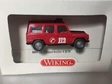 1:87 H0 Wiking Mercedes Benz G Feuerwehr VRW