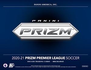 2020-21 Panini Prizm EPL Premier League Breakaway Soccer Hobby Box Presale - HOT