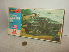 Hasegawa MB-021 GMC CCKW-353 Gasoline Tanker Truck Model Kit in 1:72 Scale