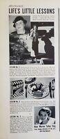 Lot of 2 Vintage 1937 Ry-Krisp Cracker Ads Marion Talley