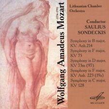 SINFONIEN KV 45B,75,97,19 NEW CD