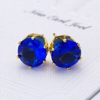 1 Pair Crystal Jewelry Women Lady Stud Earrings Ear Rhinestone