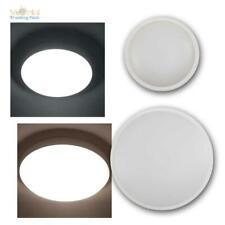 Feuchtraum-Decken-Leuchte 18/36W IP65 230V Außen-Lampe weiß rund für Keller/Bad