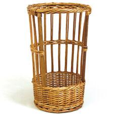 "Baguette Basket w/Open Front, 10-1/2"" Diameter, 20"" High"