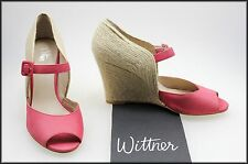 WITTNER WOMEN'S FASHION WEDGED HEEL OPEN TOE SHOES SIZE 8.5 AUST 40 EURO