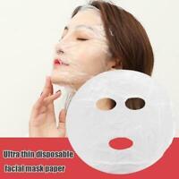 100pcs Disposable Pure Face Sheet Ultra-thin Skin Care AU D3V3