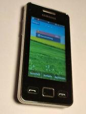 Samsung GT-S5260 Star II schwarz, Handy mit Touch Display
