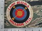 US  AIR FORCE  PATCH USAF WILLIAM TELL  ,  Camp Osceola William Tell PATCH