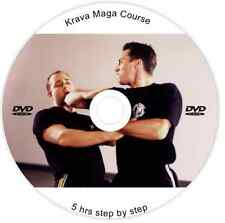 ULTIMATE SELF-DEFENCE TRAINING DVD 5 HOUR STEP-BY-STEP KRAV MAGA COURSE FITNESS