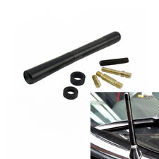 12cm Universal Fit Short Stubby Car Antenna AM/FM Radio Aerial Mast Screw Type