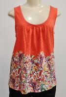 Anthropologie Akemi + Kin Rosea Size Small Top Sleeveless Paisley Print