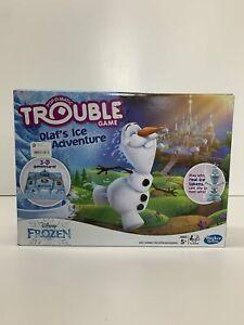 NEW IN BOX Hasbro Trouble Game - Disney Frozen Olaf's Ice Adventures