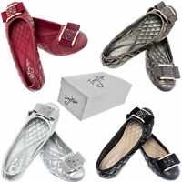 Women Wedge Pumps w/ Buckle, Casual Ladies Loafers Slip-On Slippers Shoes * NEW