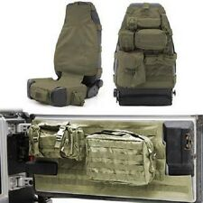 Smittybilt 07-16 Jeep Wrangler Rubicon Unlimited 2dr 4dr G.E.A.R. Seat Cover Kit