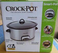 Crock Pot The Original Slow Cooker - 4 Quart - Smart Pot - NEW!