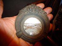 Ancien Cendrier en Régule Art Nouveau Souvenir d'Alger