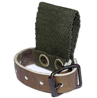 Swedish Army Leather Strap & Belt Loop axe tool shovel holder holster carrier
