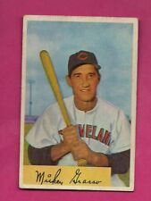 1954 BOWMAN # 184 INDIANS MICKEY GRASSO EX CARD (INV# A4959)