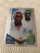 MATCH ATTAX WORLD CUP 2010 JERMAIN DEFOE LIMITED EDITION CARD