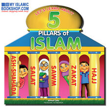 LET'S LEARN ABOUT 5 PILLARS OF ISLAM MUSLIM CHILDREN ISLAMIC KIDS BOARD BOOK