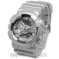 ** nuevo ** CASIO G-shock Reloj para hombre plata complejo Hyper-GA-110BC-8A - RRP £ 130