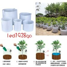 Round Fabric Pots Plant Pouch Root Container Grow Bag Aeration Container Size LA