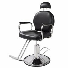 New Reclining Hydraulic Barber Chair Salon Styling Beauty Spa Shampoo Equipment